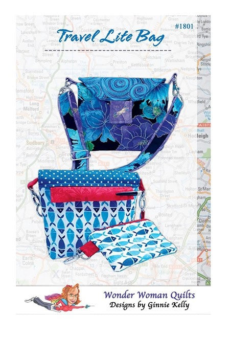 Travel Light Bag Pattern by Wonder Woman Quilts