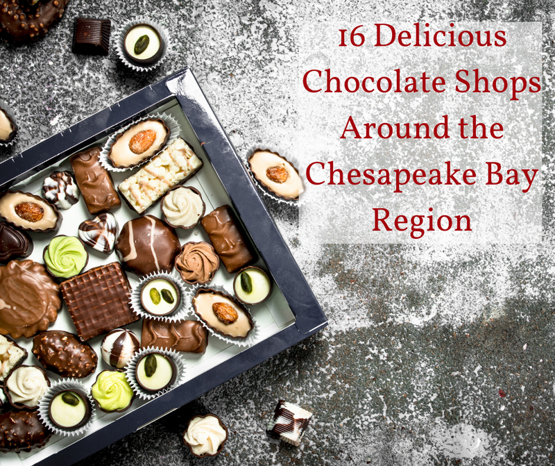 16 Delicious Chocolate Shops Around the Chesapeake Bay Region