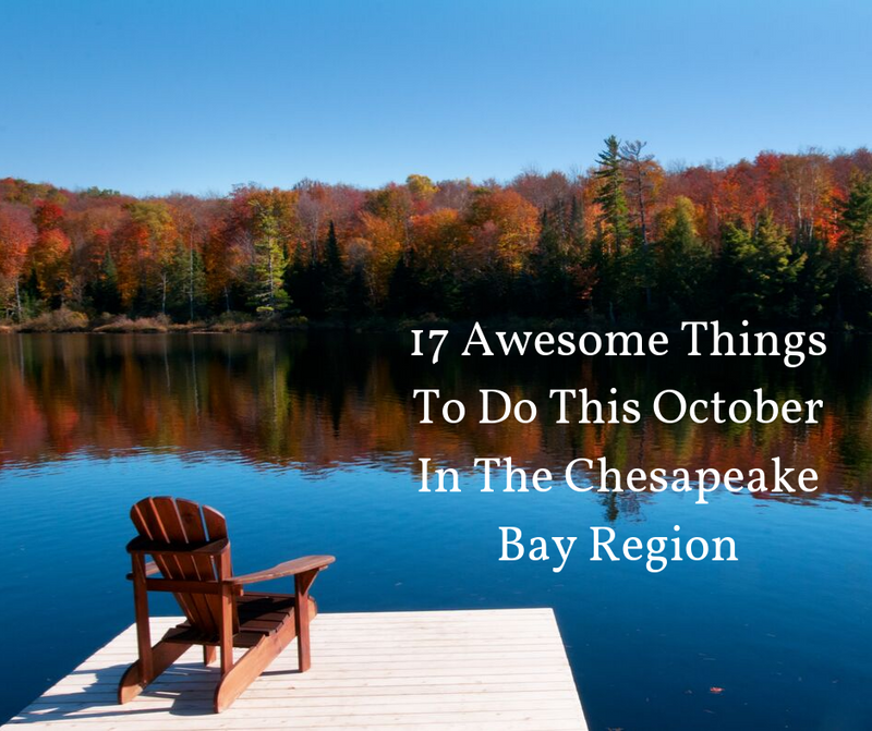 17 Awesome Things To Do This October In The Chesapeake Bay Region