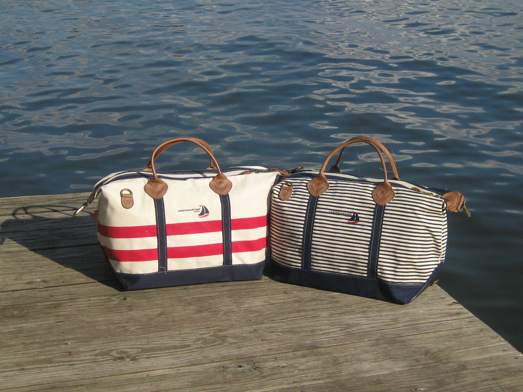 Casual Canvas Totes, perfect for beach or boat