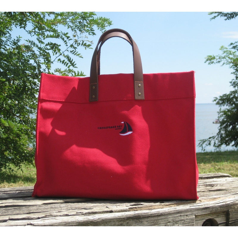 Oxford Tote - Chesapeake Bay Goods