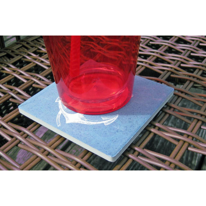 Anchor Coaster Ceramic Singles - Chesapeake Bay Goods