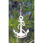 Anchor Ornaments - Set of 2 - Chesapeake Bay Goods