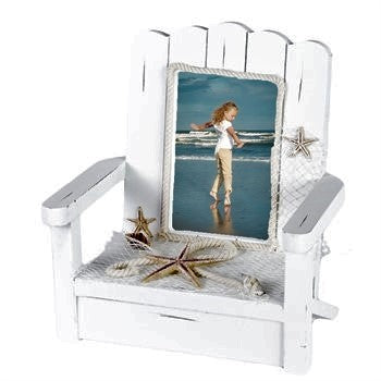 Nautical Beach Chair PIcture Photo Frame Gift - Chesapeake Bay Goods