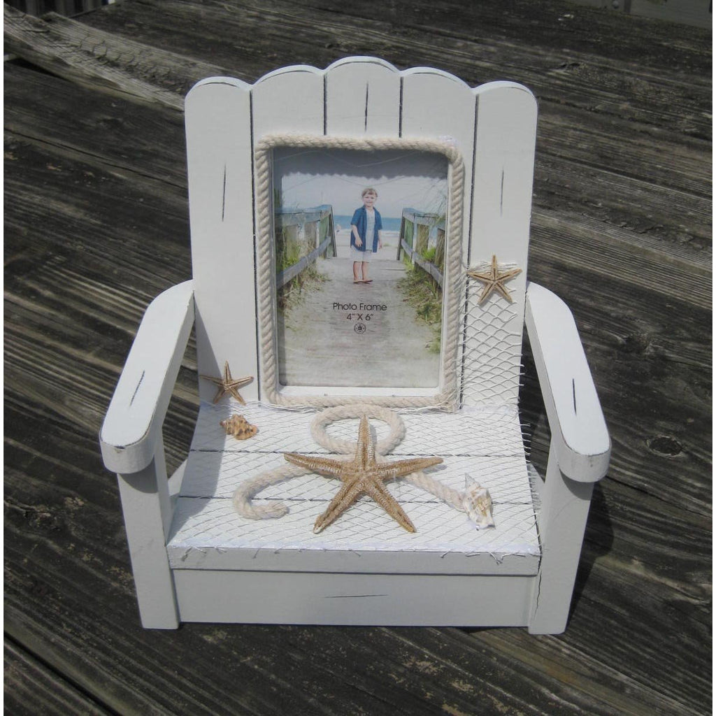 Photo Frame 4x6 - Beach Chair - Chesapeake Bay Goods