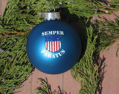 U.S. Coast Guard™ Glass Ball Christmas Ornament