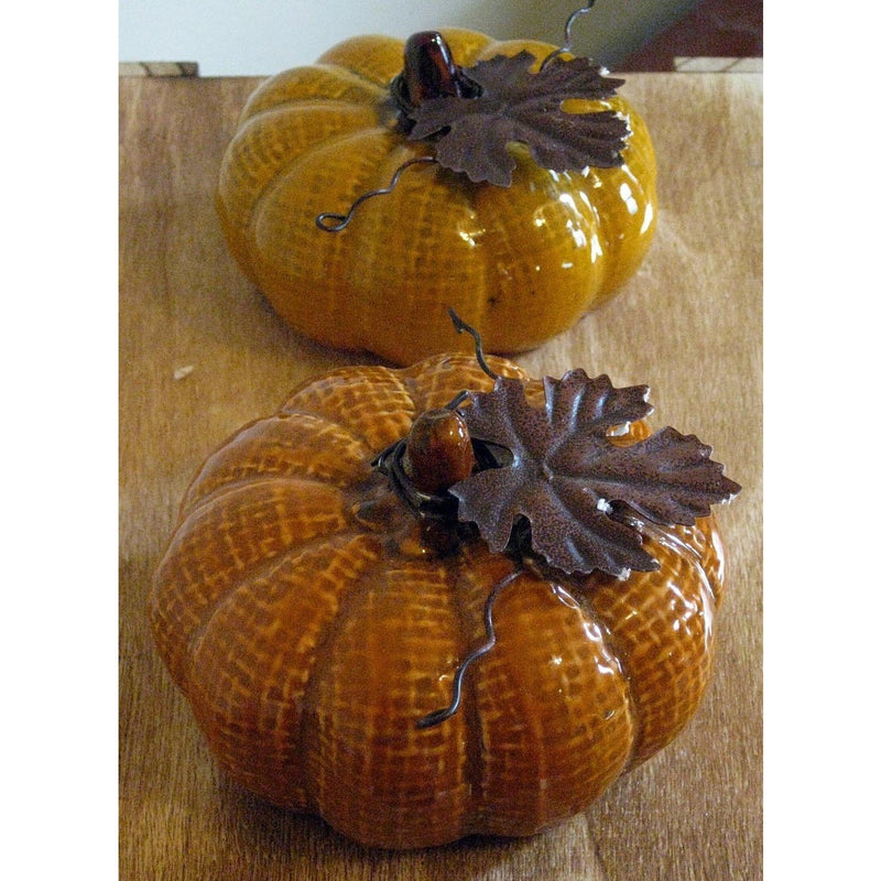 Ceramic Pumpkin Décor - Chesapeake Bay Goods