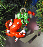 Crab on Anchor Nautical Christmas Ornament Chesapeake Bay Goods