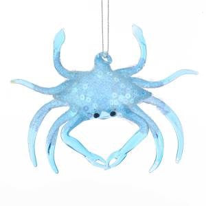 Red Crab Christmas Ornament
