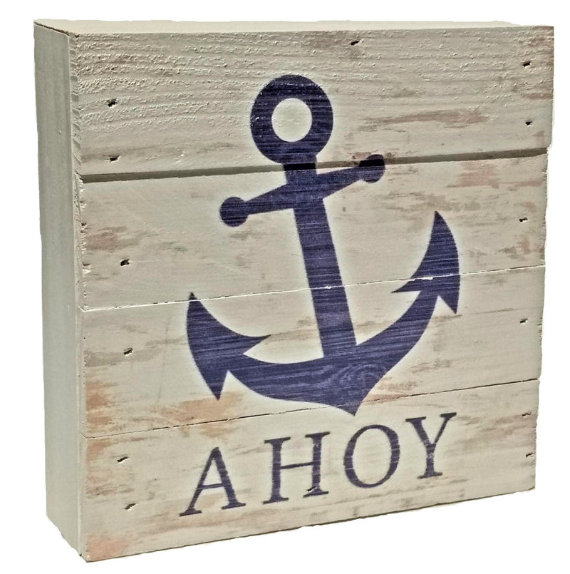 Pallet Decor:  Ahoy