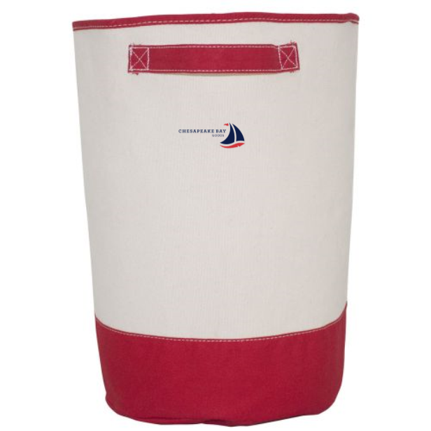 Red Laundry Hamper