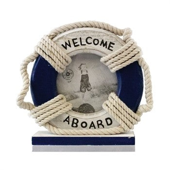 Nautical Life Ring Picture Frame - Chesapeake Bay Goods