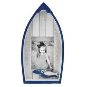 Nautical Navy & White Boat Photo Frame Chesapeake Bay Goods