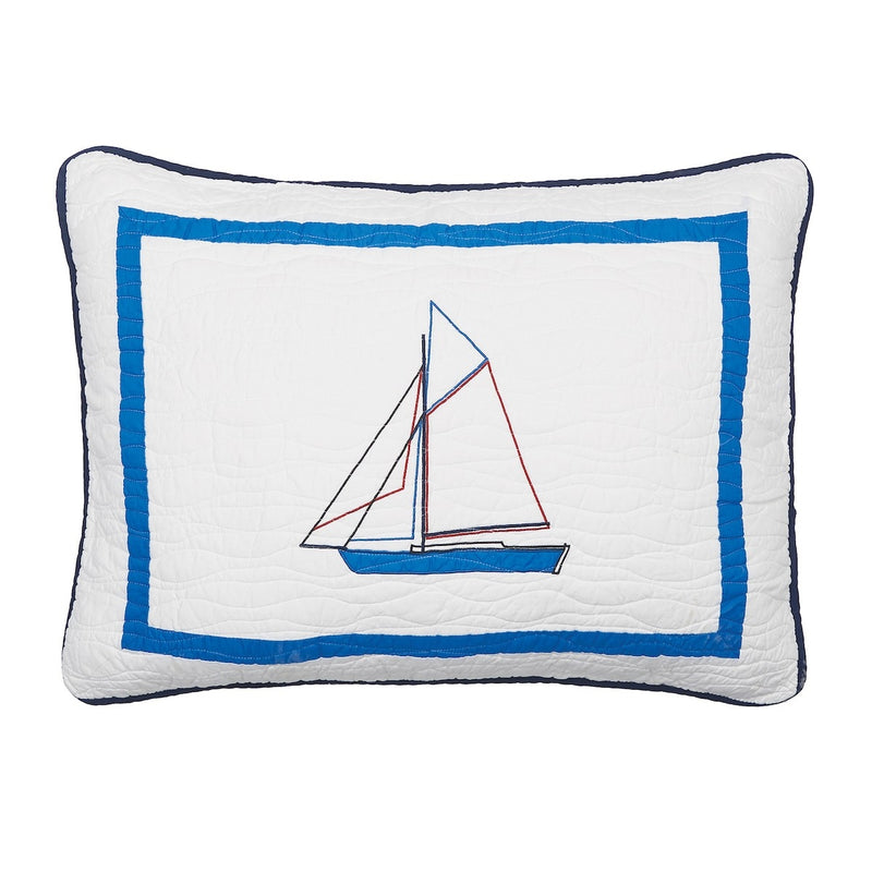 North Shore Nautical Standard Sham Chesapeake Bay Goods