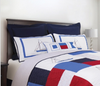 North Shore Nautical Standard Sham