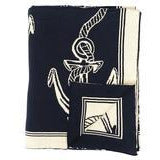 Rope and Anchor Throw - Chesapeake Bay Goods