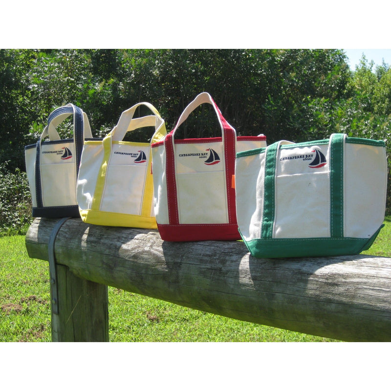 Small Cnavas Boat Tote - Chesapeake Bay Goods
