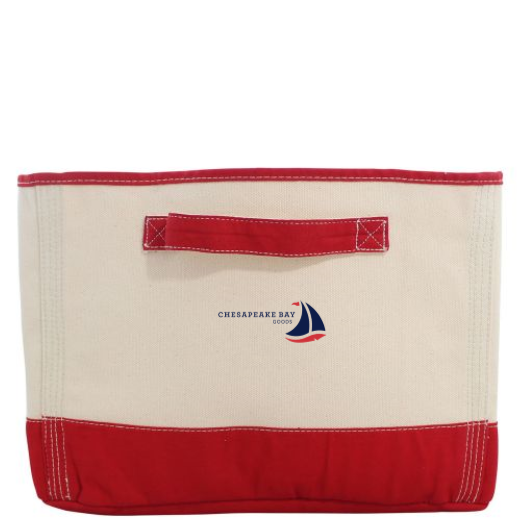 Red Tub Storage Bin - Chesapeake Bay Goods
