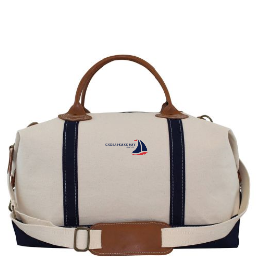 Island Canvas Weekender Tote - Chesapeake Bay Goods