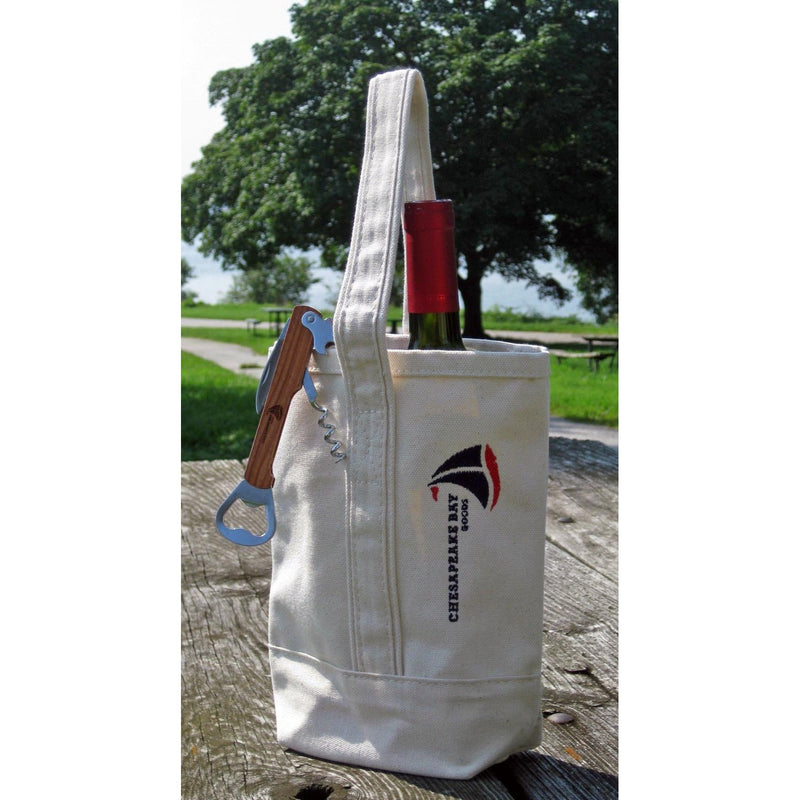 Wine Tote - Chesapeake Bay Goods