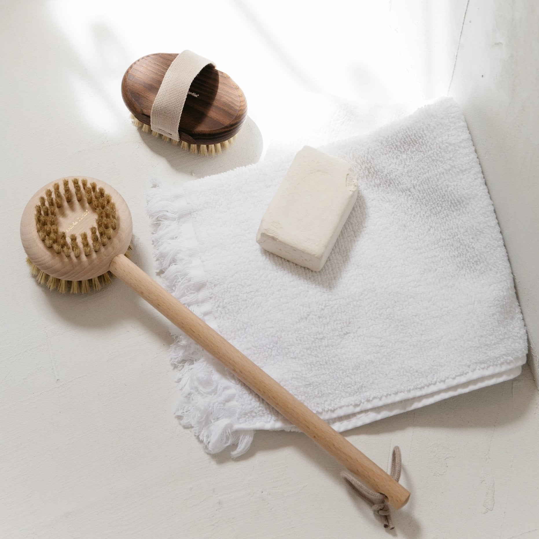 Tradition Bath Brush- Beech wood