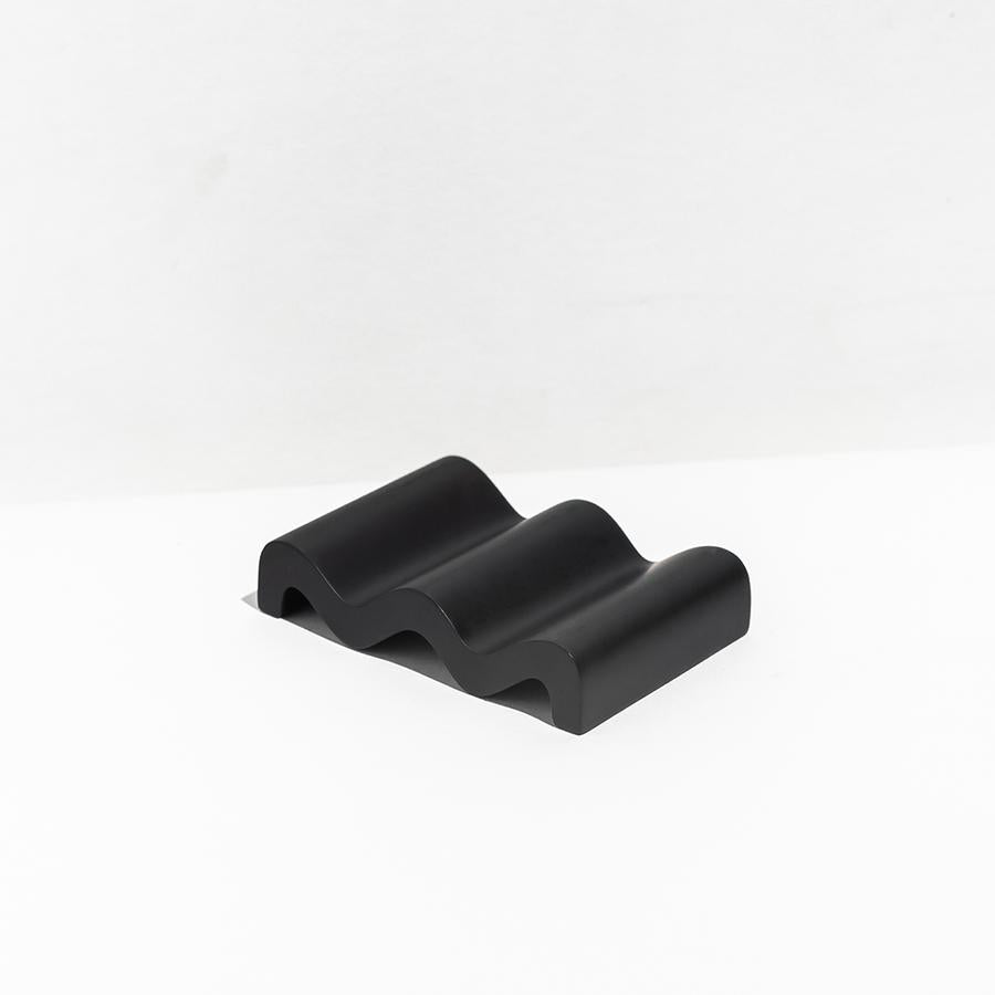 Wave Soap Dish- Black