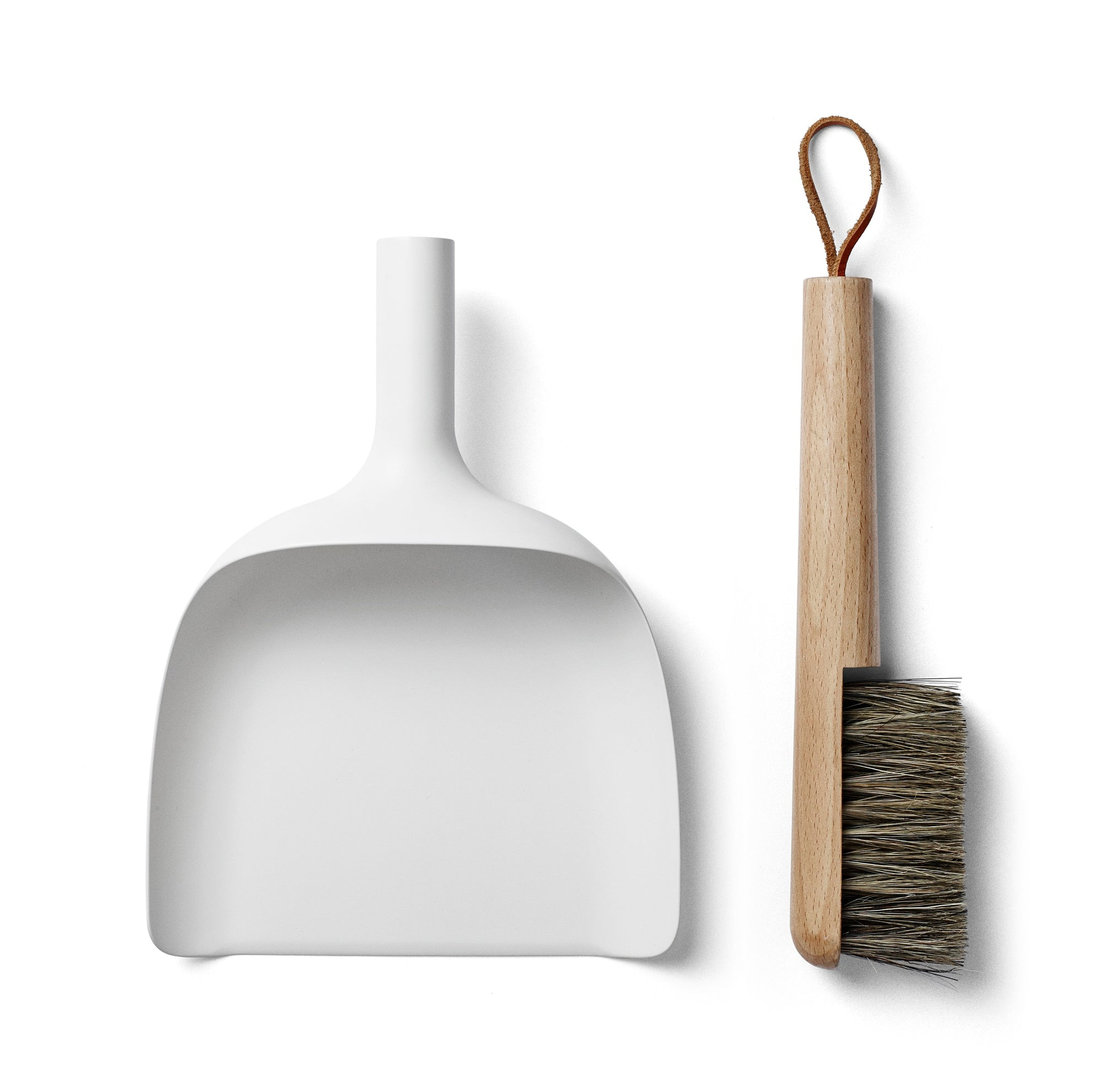 Sweeper & Funnel- White