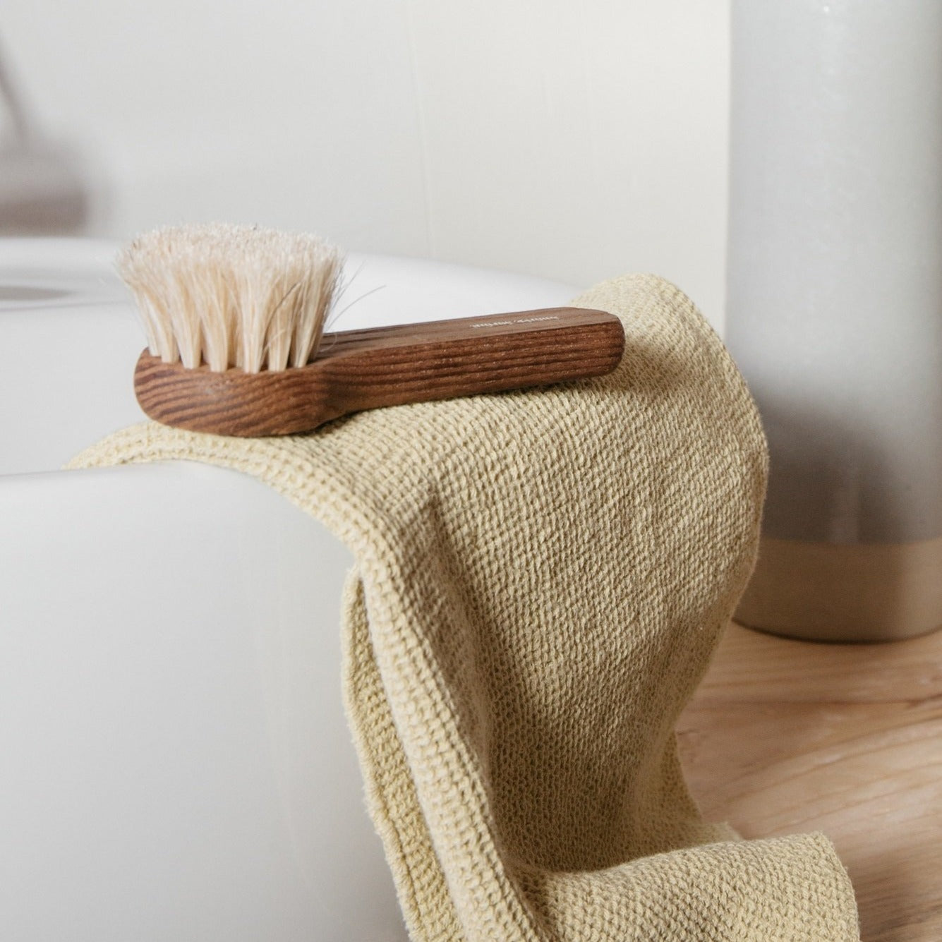 Heritage Face Cleansing Brush- Ash Wood