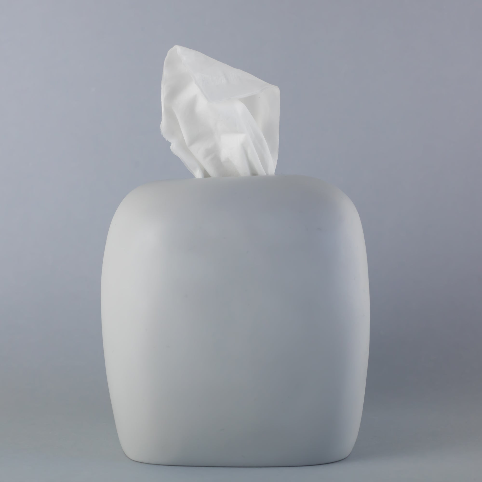 Tissue Box- Cement
