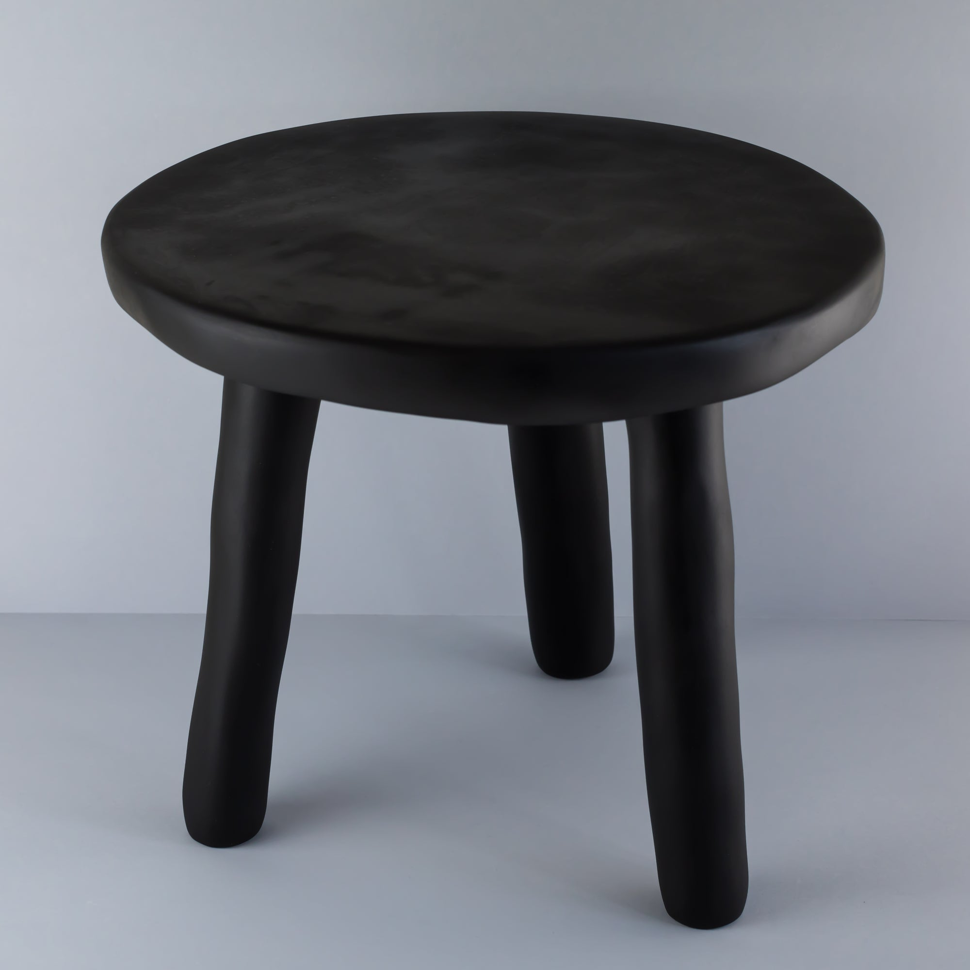 Milking Stool- Grey