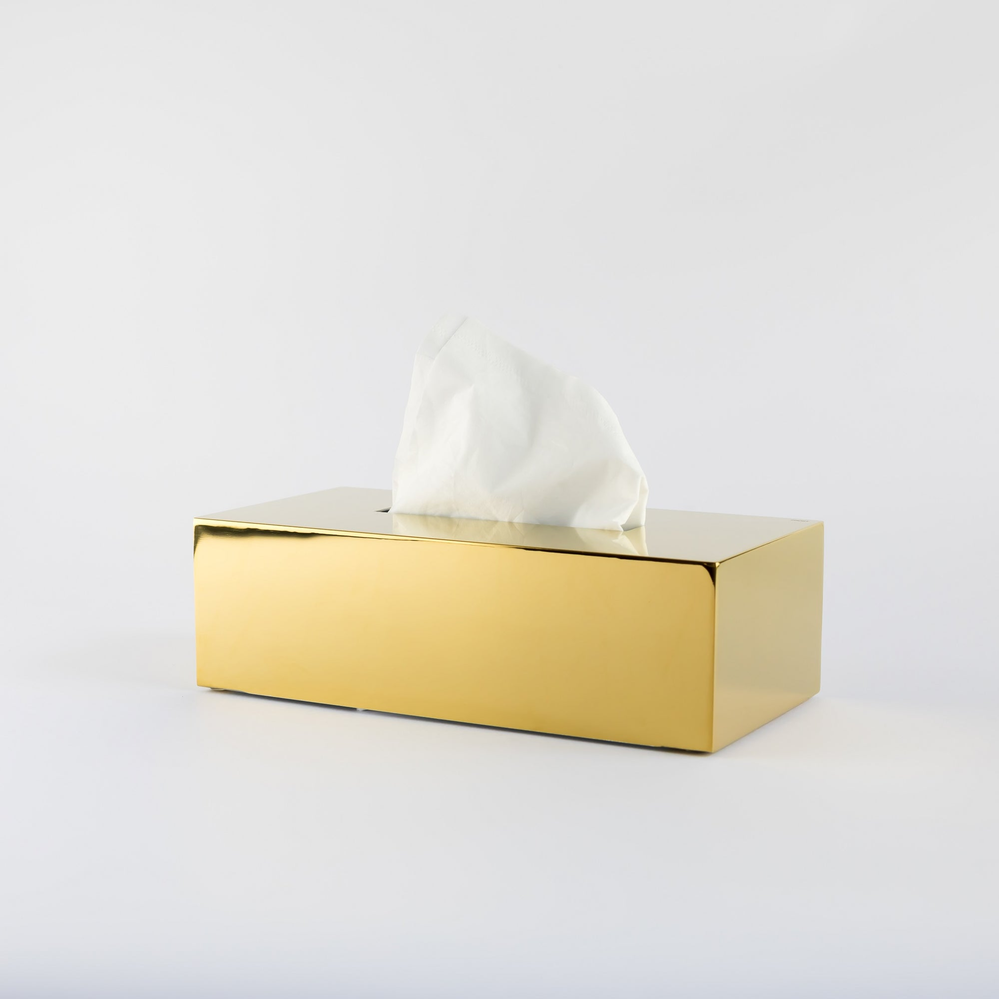 Nova2 Tissue Box- Gold