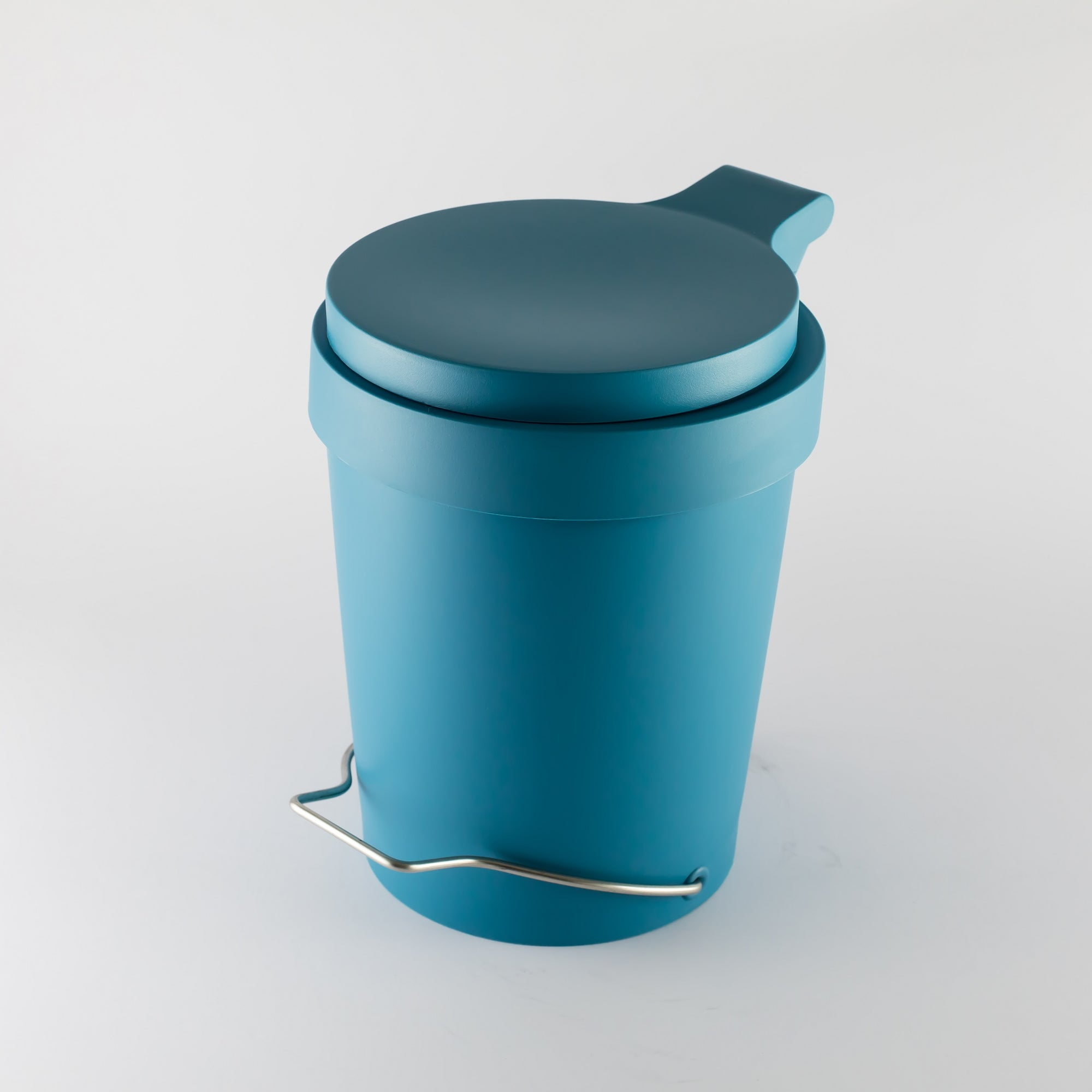 Tip 7L Pedal Bin- Tuquoise