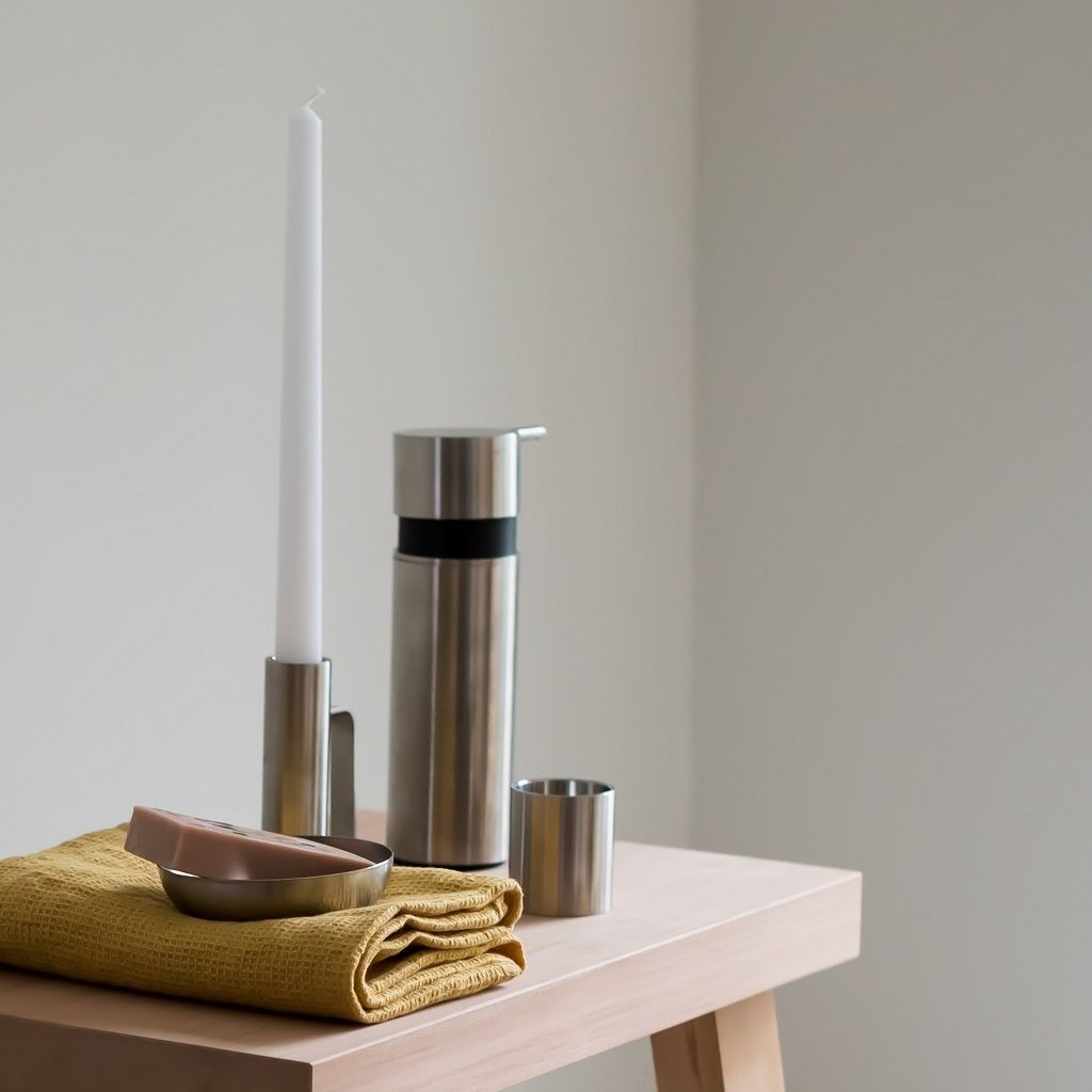 Tealight Candlestick- Brushed