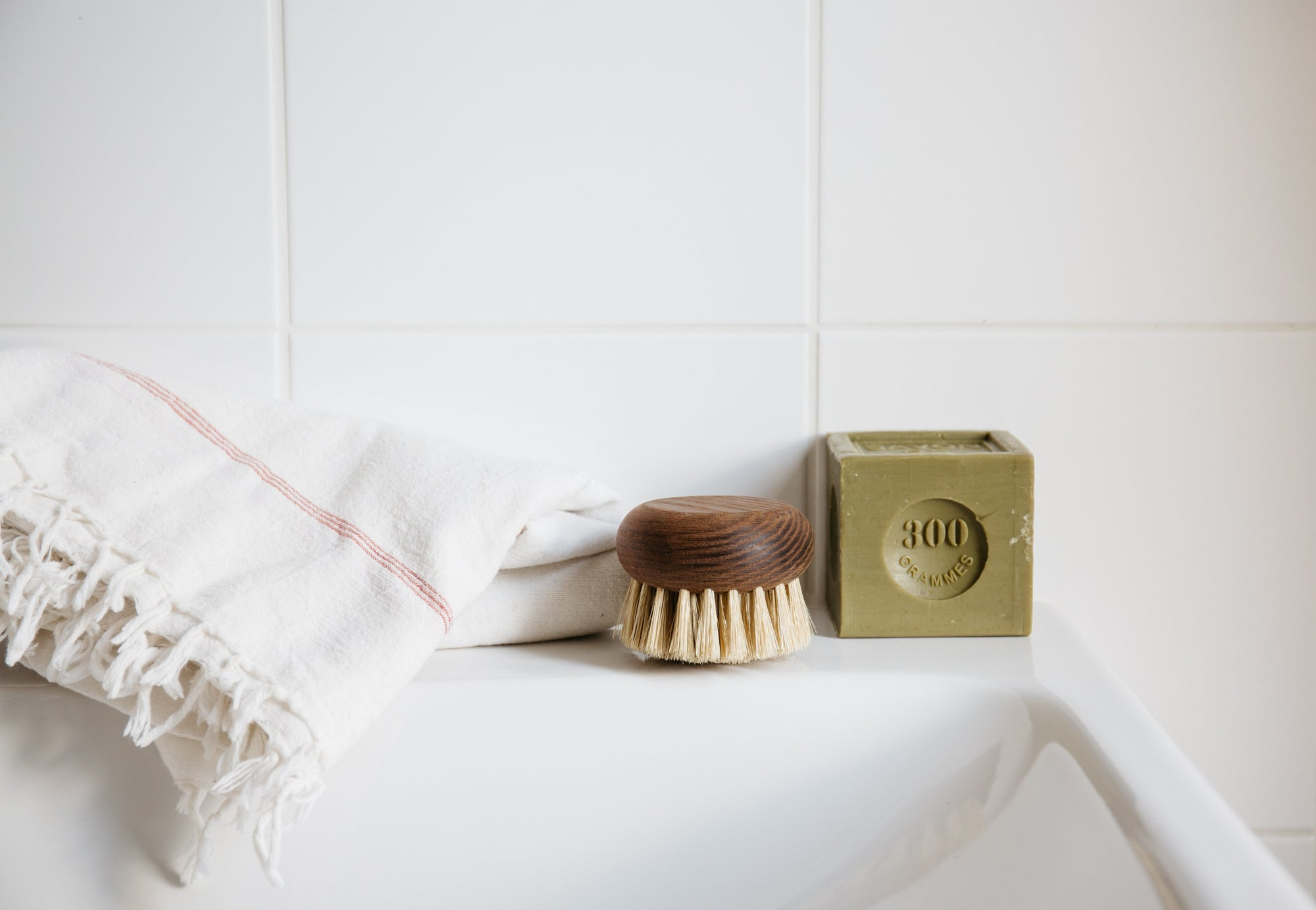 Heritage Body Brush- Ash Wood