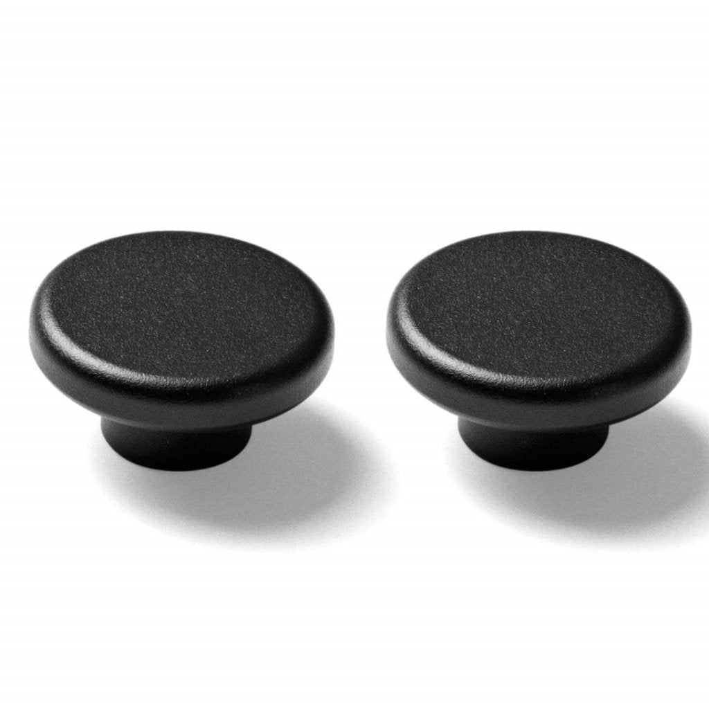 Norm Knobs 2PC- Black