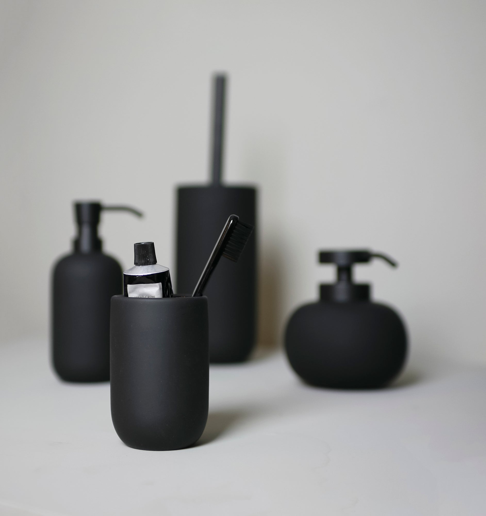 LOTUS Toilet Brush- Black