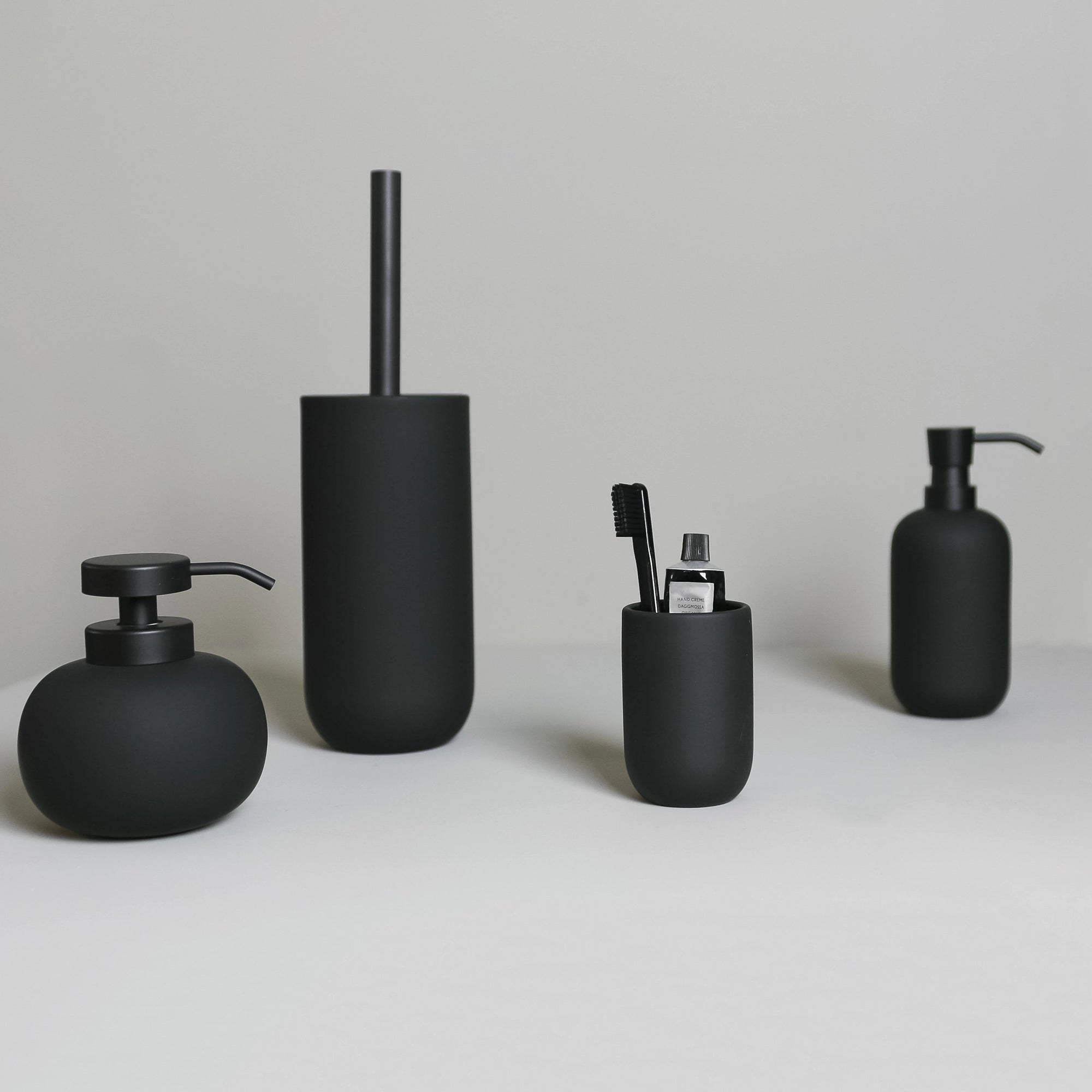 LOTUS Soap Dispenser- Black