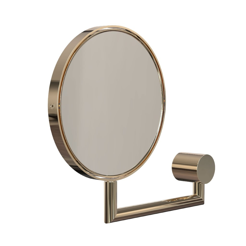 Nova2 Magnifying wall mirror- Gold