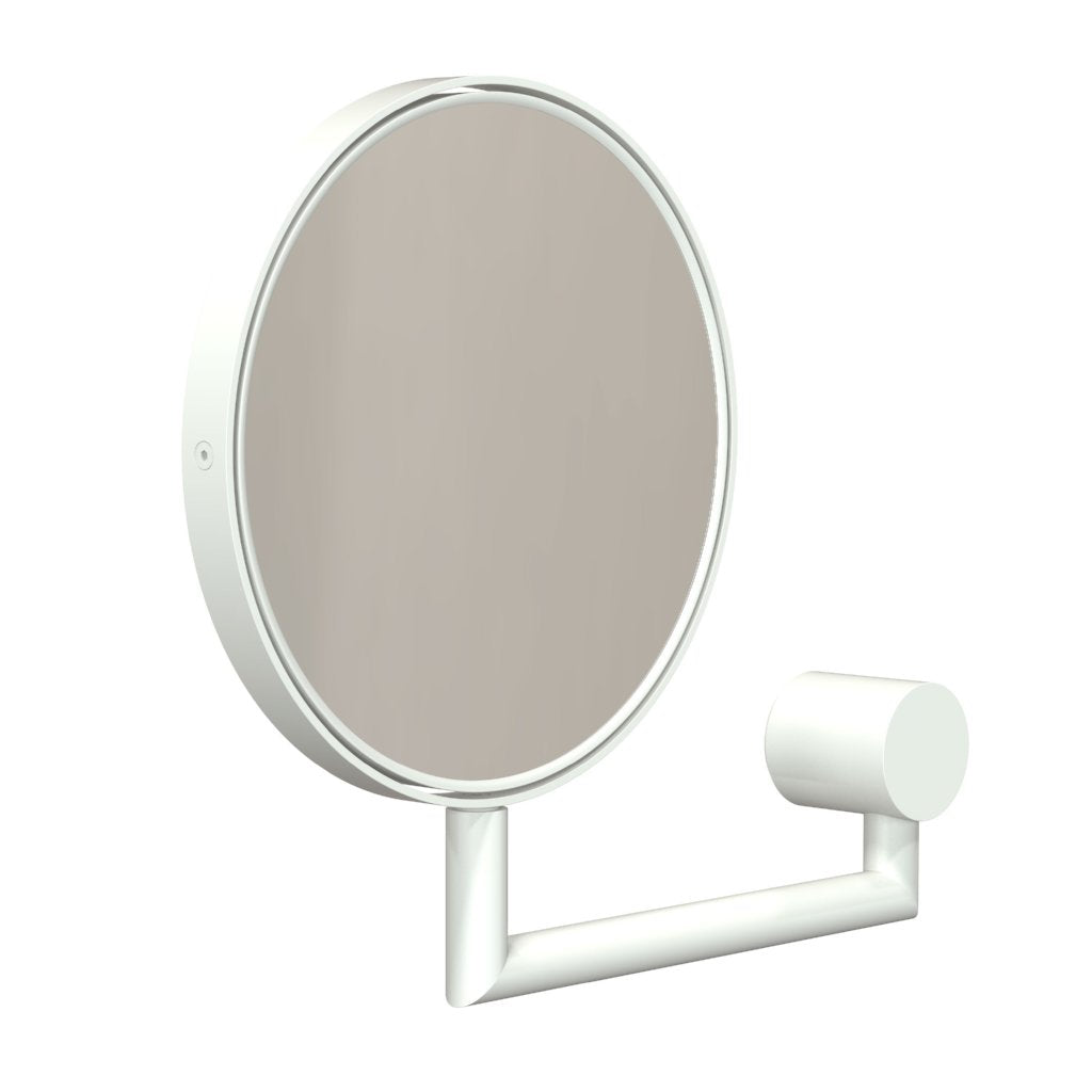 Nova2 Magnifying wall mirror- White