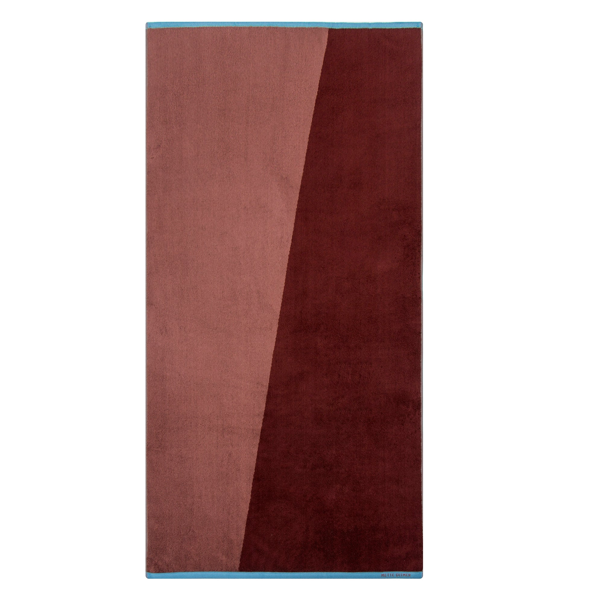 SHADES Bath Towel- Wine