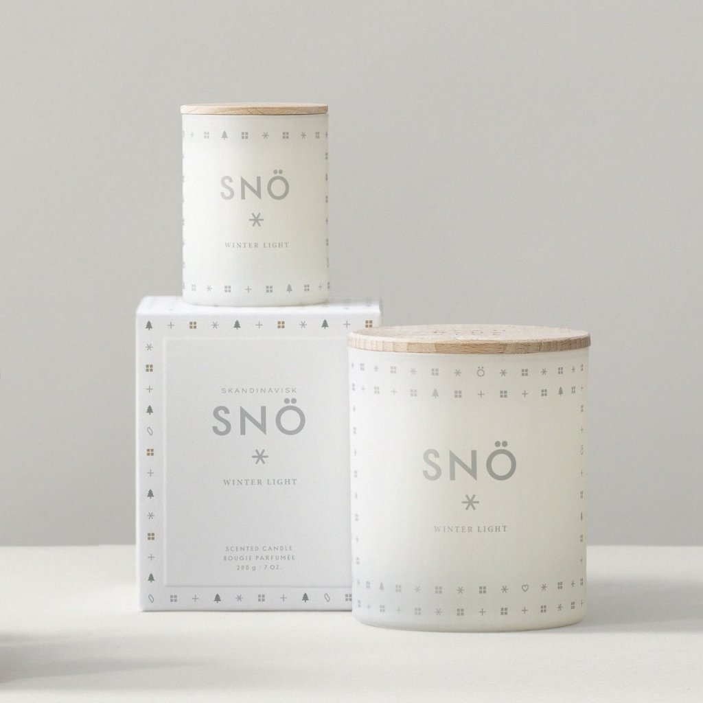 SNÖ Scented Candle (Snow)