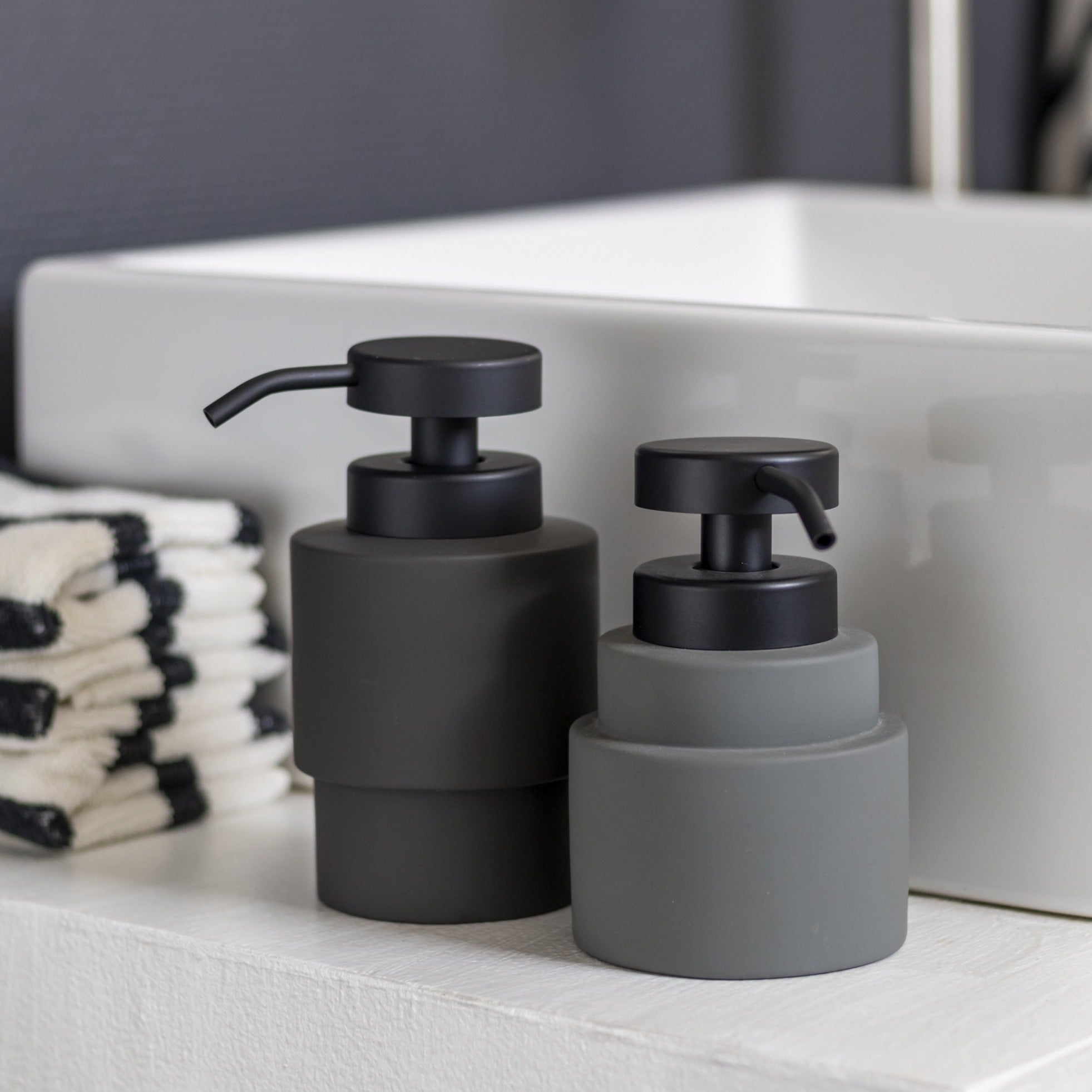 SHADES High Soap Dispenser- Grey
