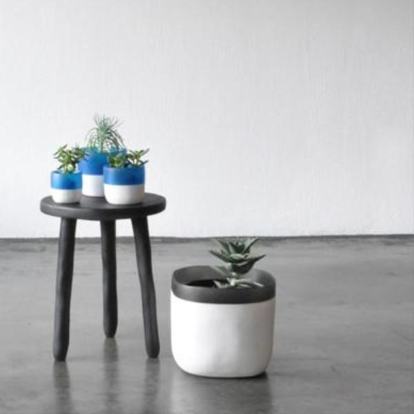 Side Table- Grey