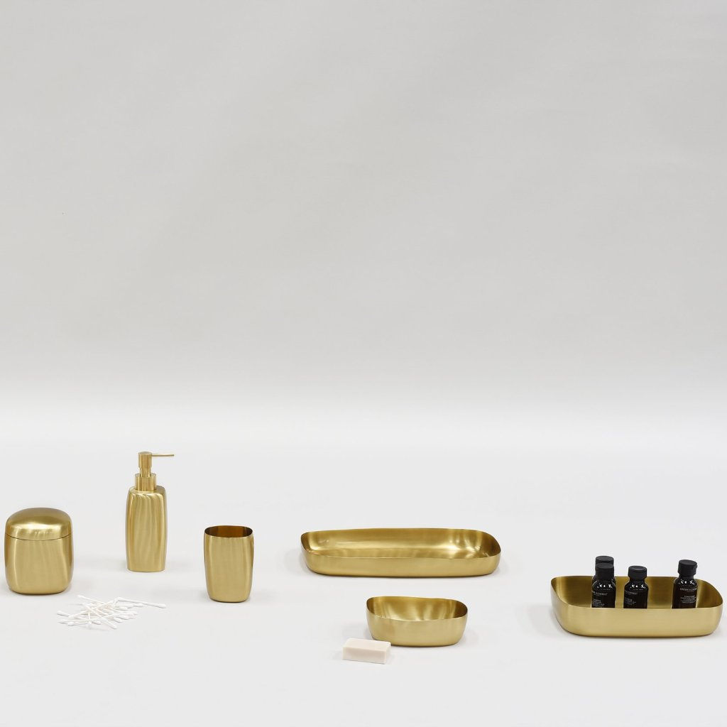 Vanity Tray- Brushed Brass