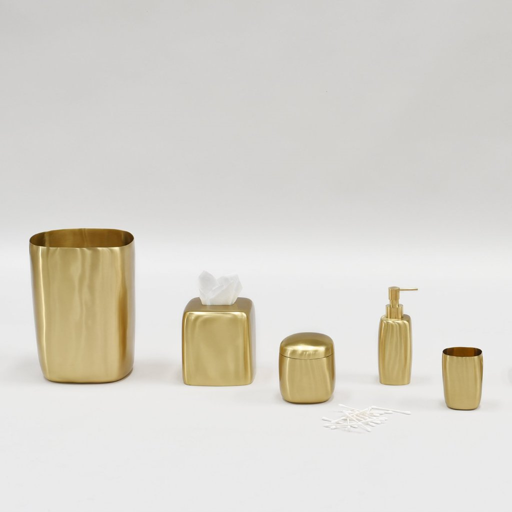 Tissue Box- Brushed Brass