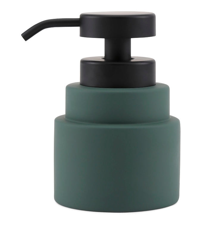 SHADES Low Soap Dispenser- Pine Green