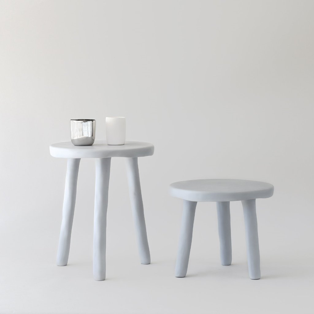 Cement Milking Stool Tina Frey  Bathroom Furniture For Small