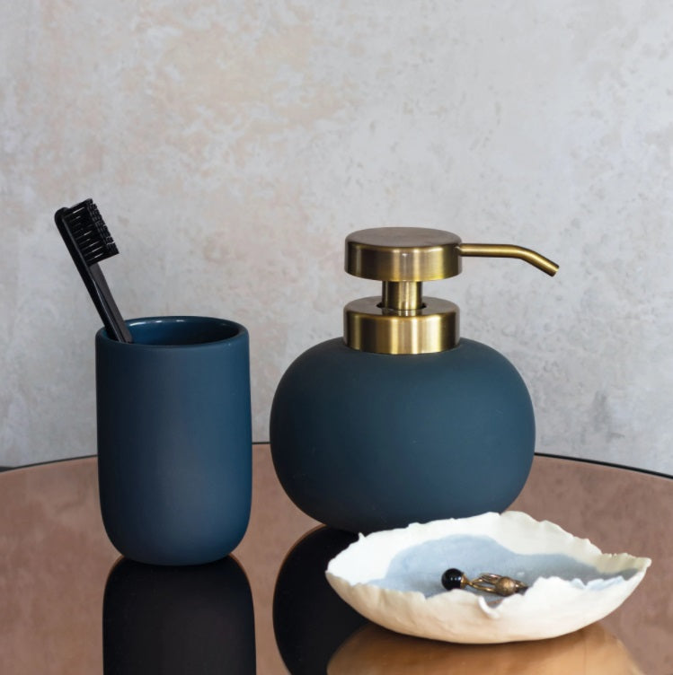 LOTUS Soap Dispenser Low- Midnight Blue