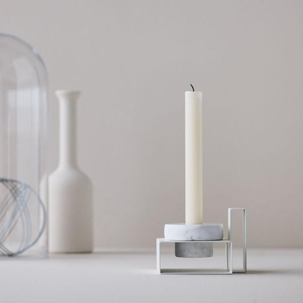 Marco Candleholder- White