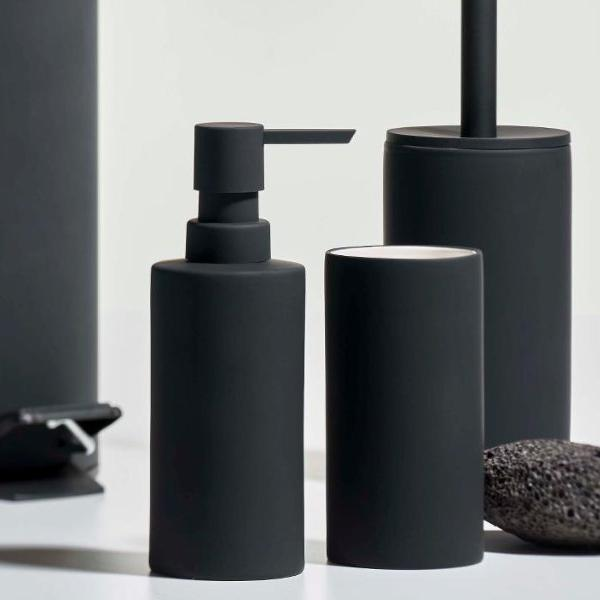 Solo Soap Dispenser- Black